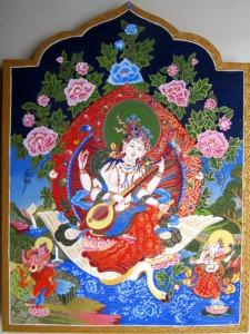 Hindoe godin Saraswati