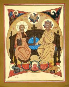 Nieuw Testamentische Triniteit Rusland 19e eeuw