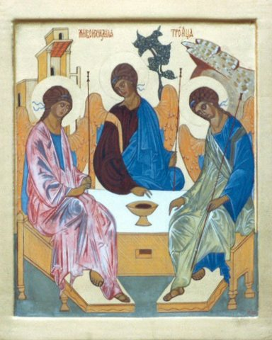 The Old Testament Trinity – Roersma Iconpaintings