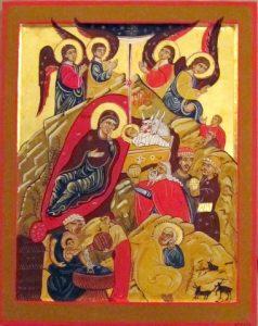 Geboorte van Christus, Sinaï. 13e eeuw.